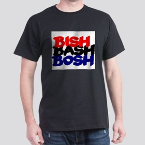 BISH BASH BOSH - RED BLACK BLUE T-Shirt