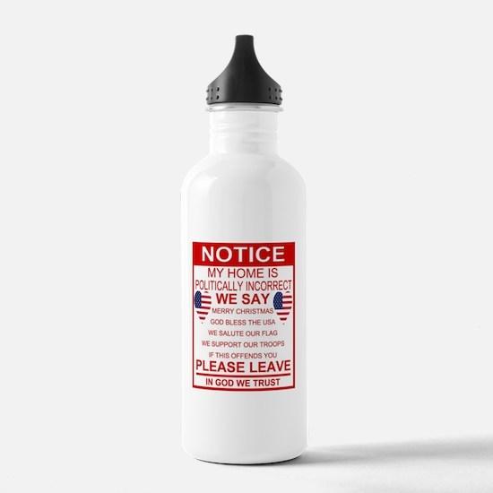 Cute America Sports Water Bottle