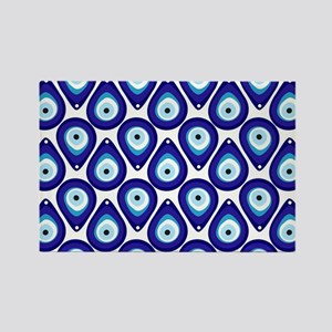 Evil eye protection pattern design Magnets