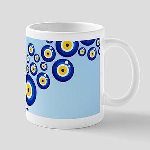 Evil eye protection pattern design Mugs