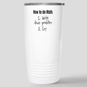 How To Do Math III Stainless Steel Travel Mug