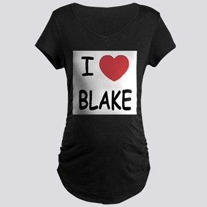 I heart blake Maternity T-Shirt