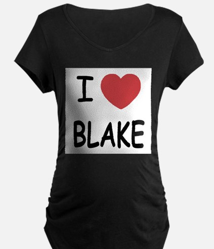 I heart blake Maternity T-Shirt