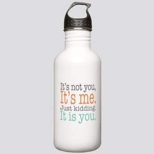 It's Not Me Just K Stainless Water Bottle 1.0L