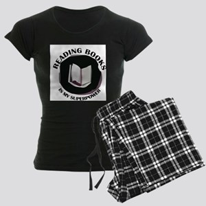 reading books is my superpowe Pajamas