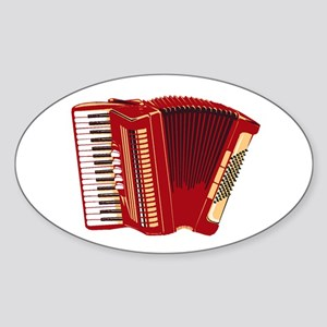 Accordion Sticker (Oval)