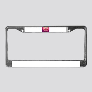 PaSSioN License Plate Frame