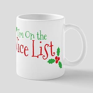 Nice List Mug