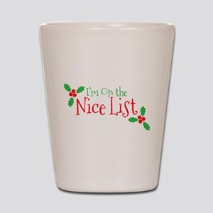 Nice List Shot Glass