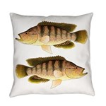 Thinface Cichlid Everyday Pillow