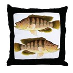 Thinface Cichlid Throw Pillow