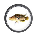 Thinface Cichlid Wall Clock