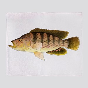 Thinface Cichlid Throw Blanket