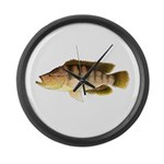 Thinface Cichlid Large Wall Clock