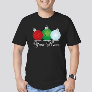 Ornaments Personalized Men's Fitted T-Shirt (dark)