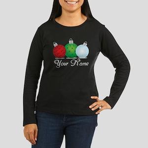 Ornaments Persona Women's Long Sleeve Dark T-Shirt