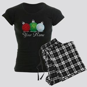 Ornaments Personalized Women's Dark Pajamas