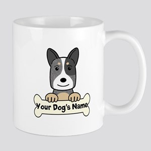 Personalized Cattle Dog Mug
