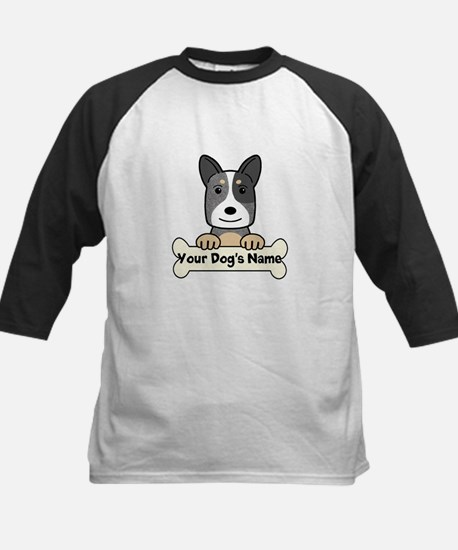 Personalized Cattle Dog Kids Baseball Jersey