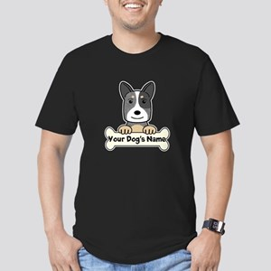 Personalized Cattle Do Men's Fitted T-Shirt (dark)