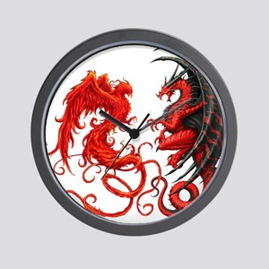 Can The Dragon Beat The Phoeni Wall Clock