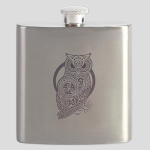 The Celtic Owl Flask