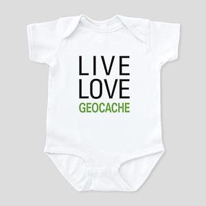 Live Love Geocache Infant Bodysuit