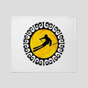 SKI Throw Blanket