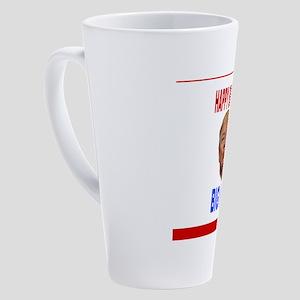 HAPPY BIRTHDAY BIG KISS 17 oz Latte Mug