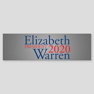 Elizabeth Warren 2020 Sticker (Bumper)