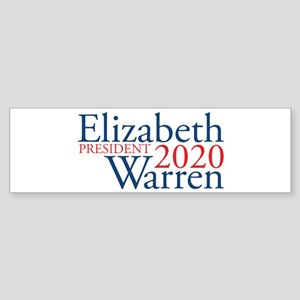 Elizabeth Warren 2020 Sticker (Bumper)