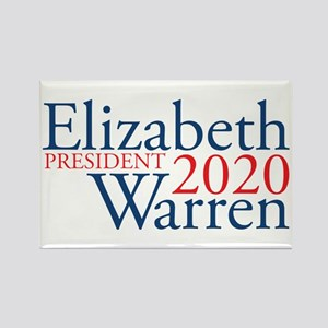 Elizabeth Warren 2020 Rectangle Magnet