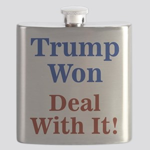 Trump Won Deal With It! Flask