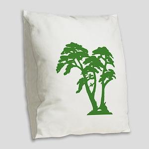 HARMONY Burlap Throw Pillow
