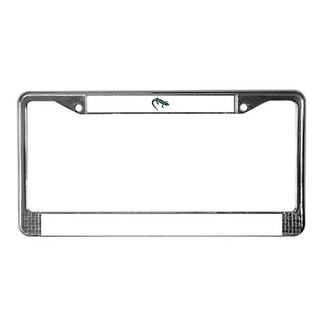 tracking license plate frame by artworkbyshirleyann333. Black Bedroom Furniture Sets. Home Design Ideas