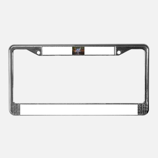 Eternal Embrace License Plate Frame
