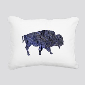 BISON Rectangular Canvas Pillow