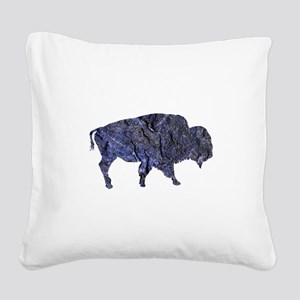 BISON Square Canvas Pillow
