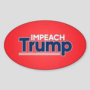 Impeach Trump Sticker (Oval)