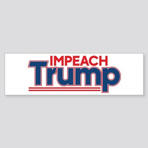 Impeach Trump Sticker (Bumper)