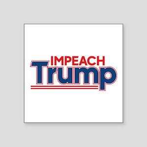 """Impeach Trump Square Sticker 3"""" x 3"""""""