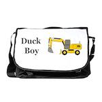 Duck Boy Messenger Bag
