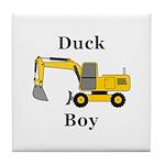 Duck Boy Tile Coaster