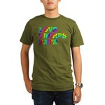 Love Trumps Hate Organic Men's T-Shirt (dark)