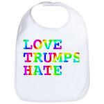 Love Trumps Hate Bib