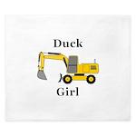 Duck Girl King Duvet