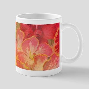 Floral Pink Flowers Vintage Pattern Romantic Mugs