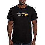 Duck Man Men's Fitted T-Shirt (dark)