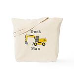 Duck Man Tote Bag