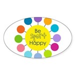 Be Sport Happy Sticker